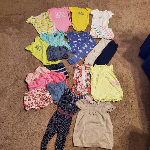 Carter's Other - Carter's/Place Baby Girl Clothes Bundle 12M 18M